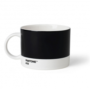 Чашка для чая PANTONE Living Black 419