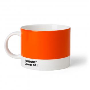 Чашка для чая PANTONE Living Orange 021