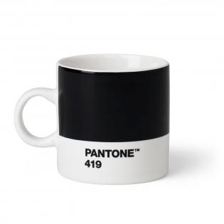 Чашка эспрессо PANTONE Living Black 419