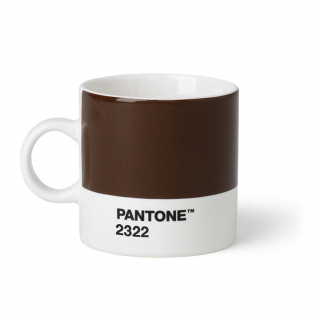 Чашка эспрессо PANTONE Living Brown 2322