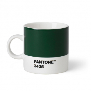 Чашка эспрессо PANTONE Living Dark Green 3435