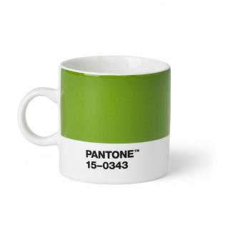 Чашка эспрессо PANTONE Living Green 15-0343