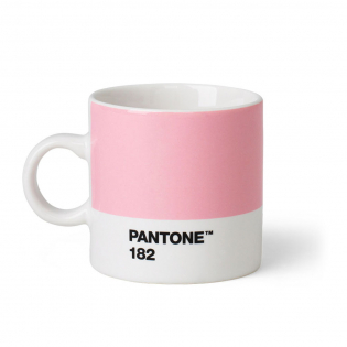 Чашка эспрессо PANTONE Living Light Pink 182