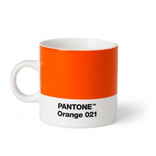 Чашка эспрессо PANTONE Living Orange 021
