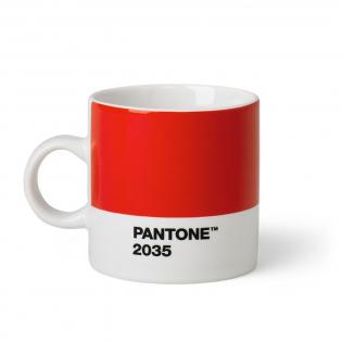 Чашка эспрессо PANTONE Living Red 2035