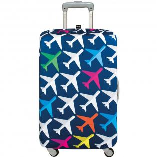 Чехол для чемодана AIRPORT Airplane Medium LOQI