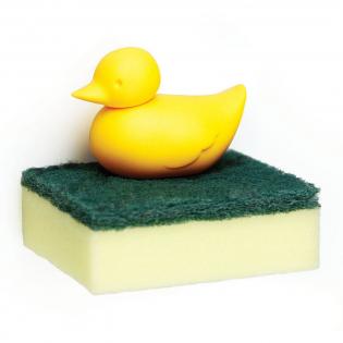 Держатель для губки Duck Sponge Qualy Желтый