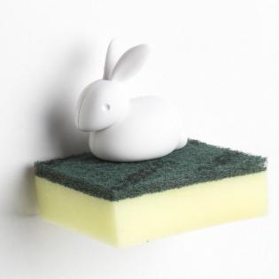Держатель для губки Sponge Bunny Qualy Белый