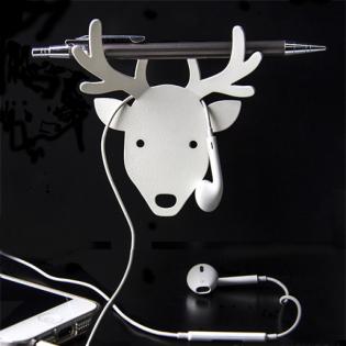Держатель для ключей и аксессуаров Deer Qualy Белый