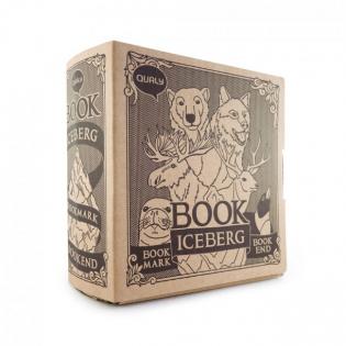 Держатель для книг (букенд) и набор закладок Book Mountain Qualy