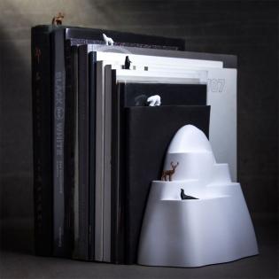 Держатель для книг (букенд) и набор закладок Iceberg Qualy