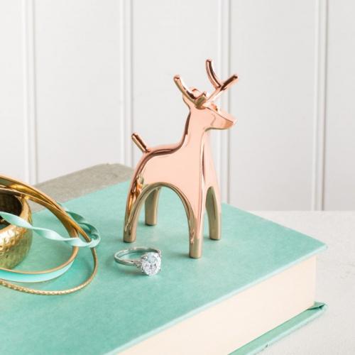 Держатель для колец Anigram Reindeer Umbra Медный