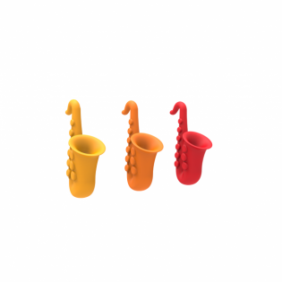 Держатель для крышки кастрюли Saxy Rocket Design Оранжевый