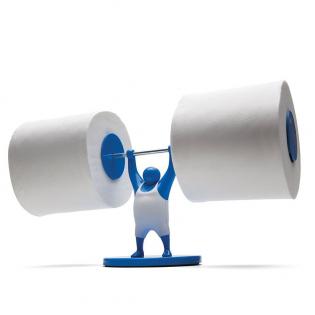 Держатель туалетной бумаги Mr.T Monkey Business Синий
