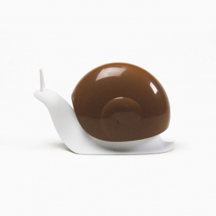 Диспенсер для жидкого мыла Escar Qualy Белый / Коричневый