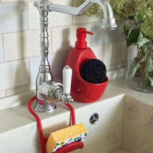 Диспенсер для жидкого мыла Joey Umbra Красный