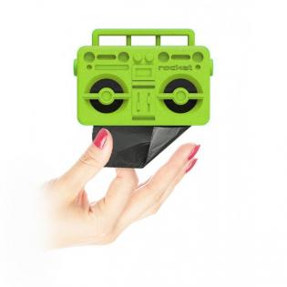 Диспенсер пакетиков для выгула собак Boom Dog Rocket Design Зеленый
