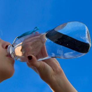 Эко бутылка Eau Good Black+Blum Синяя