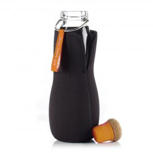Эко бутылка стеклянная Eau Good Black+Blum Оранжевая