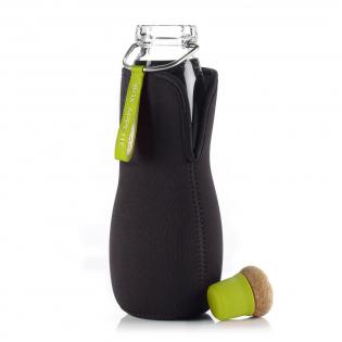 Эко бутылка стеклянная Eau Good Black+Blum Зеленая