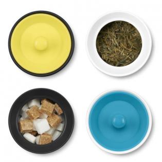 Емкость для хранения чая, кофе или специй Notin PO Selected Черная / Белая