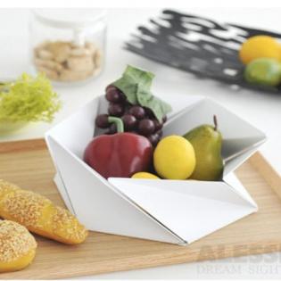 Фруктовница (ваза для фруктов) Kaleidos Alessi Белая