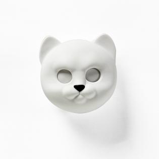 Ключница настенная Neko Cat Qualy Белая