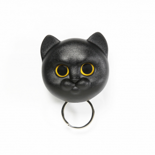 Ключница настенная Neko Cat Qualy Черная