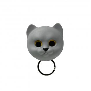 Ключница настенная Neko Cat Qualy Серая