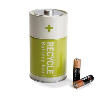Контейнер для батареек Battery Box Monkey Business