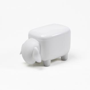 Контейнер Sheepshape Container Junior Qualy Белый / Белый