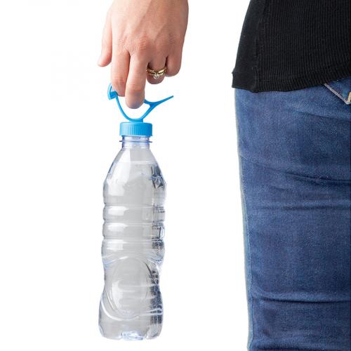 Крышка-держатель для бутылки Bottle Clip Peleg Design Синяя