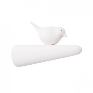 Крючок настенный Picky Sparrow Qualy Белый / Белый