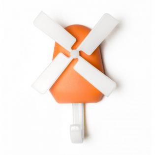 Крючок настенный Windmill Qualy Оранжевый