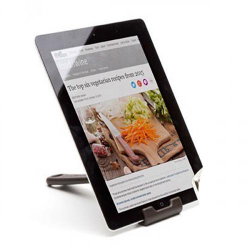 Кухонная подставка для планшета Cooklet Peleg Design Черная