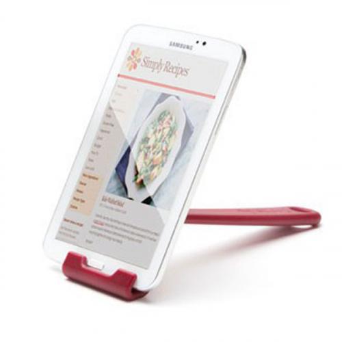 Кухонная подставка для планшета Cooklet Peleg Design Темно-красная