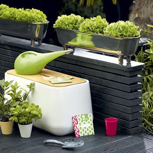 Лейка для полива растений Kiwi Alessi Зеленая