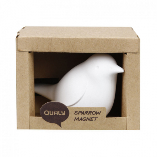 Магнит Sparrow Qualy Белый