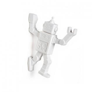 Магнитный крючок для холодильника Robohook Peleg Design Белый