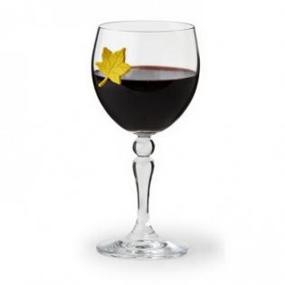 Маркеры для бокалов Leaf My Glass Qualy