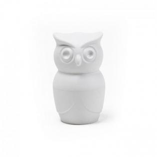 Мельница для соли или перца Tasty Owl Qualy Белая