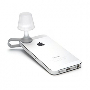 Мини-ночник для смартфона Luma Peleg Design Серый