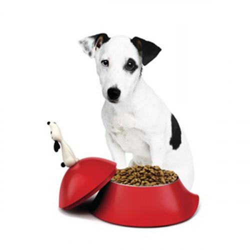 Миска для собак Lula Alessi Красная