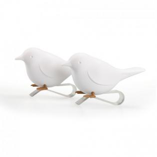 Набор держателей для салфеток Sparrow Napkin Qualy Белый