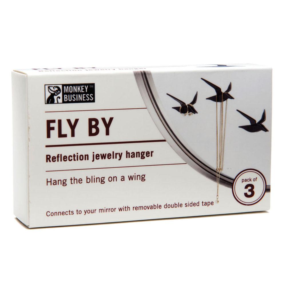 Набор держателей для украшений Fly By Monkey Business Черный