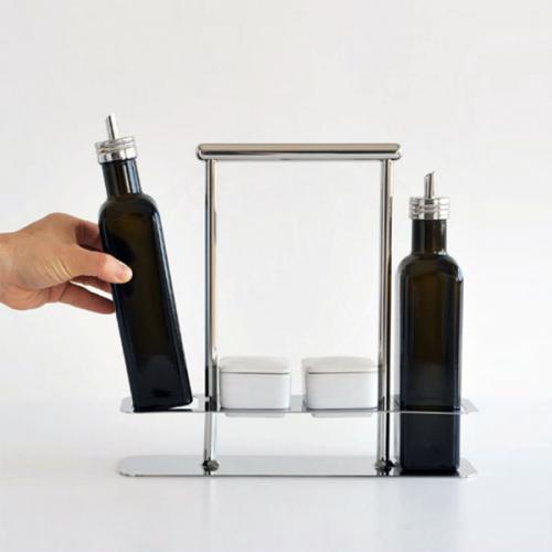 Набор для оливкового масла и специй Trattore Alessi