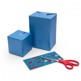 Набор для упаковки подарков Robot Gift Wrap Luckies