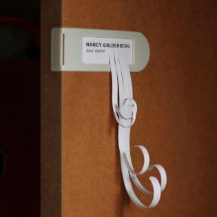 Набор дверных бирок Doortag Monkey Business Белый