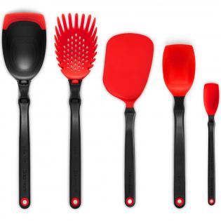 Набор кухонных принадлежностей Set of the Best Dreamfarm Красный
