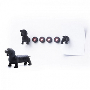 Набор магнитов Dachshund Magnet Dog Qualy